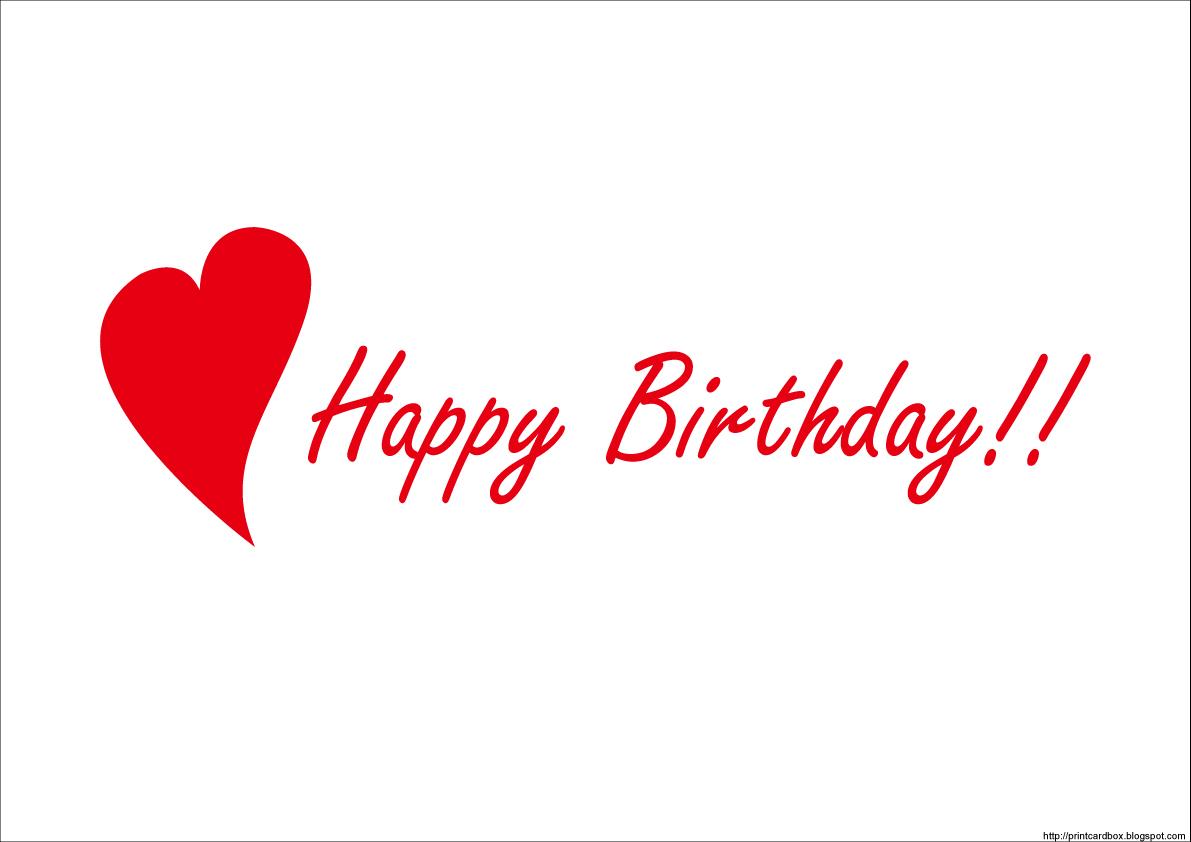... Happy Birthdayシンプルカード