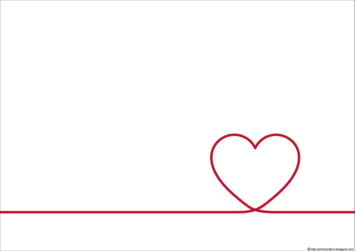 すべての折り紙 折り紙 クリスマス : 無料カード72】ハート赤い糸 ...